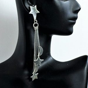 Vintage Sterling Mexico Celestial Dangle E…